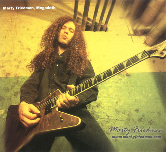 Marty Friedman: Music For Speeding 2002